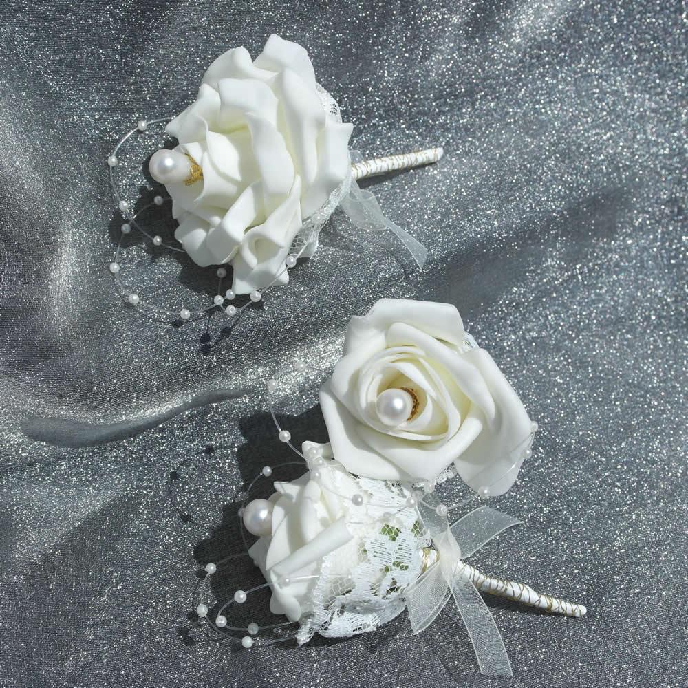 Wedding Flowers Silk Bouquet Silk Wedding Flowers Faux Wedding